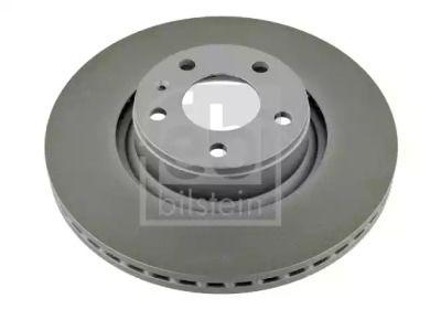 Вентилируемый передний тормозной диск на Ауди А6 Олроуд 'FEBI 26648'.