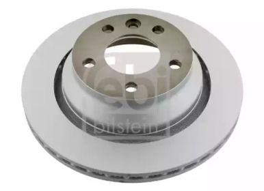 Вентилируемый задний тормозной диск на VOLKSWAGEN TOUAREG 'FEBI 28164'.