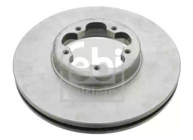 Вентилируемый передний тормозной диск на FORD TRANSIT CUSTOM 'FEBI 28389'.
