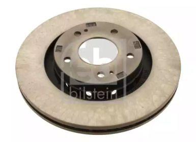Вентилируемый передний тормозной диск на Пежо 4007 'FEBI 28440'.