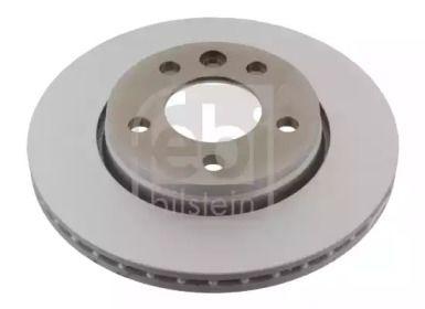 Вентилируемый задний тормозной диск на Фольксваген Мультивен 'FEBI 28682'.