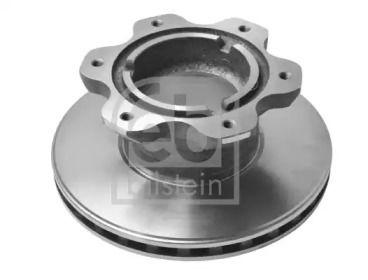 Вентилируемый задний тормозной диск на MERCEDES-BENZ T2 'FEBI 29169'.