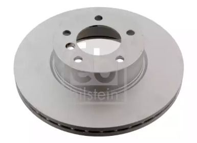 Вентилируемый передний тормозной диск на BMW X1 'FEBI 30541'.