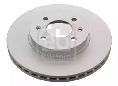 Вентилируемый передний тормозной диск на HYUNDAI GETZ 'FEBI 31318'.