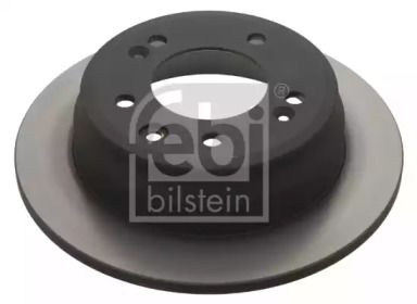 Задний тормозной диск на HYUNDAI I30 'FEBI 31363'.