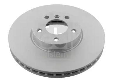 Вентилируемый передний тормозной диск на BMW X6 'FEBI 32264'.