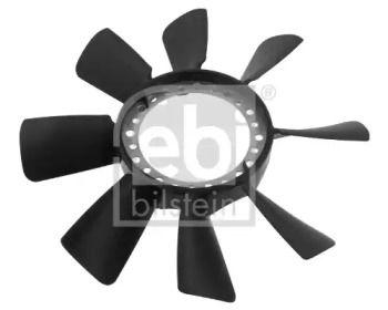 Крыльчатка вентилятора охлаждения двигателя на VOLKSWAGEN PASSAT 'FEBI 34466'.