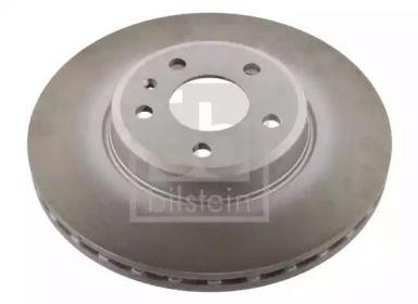 Вентилируемый передний тормозной диск на Ауди А5 'FEBI 36232'.