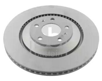 Вентилируемый задний тормозной диск на VOLKSWAGEN PHAETON 'FEBI 36239'.