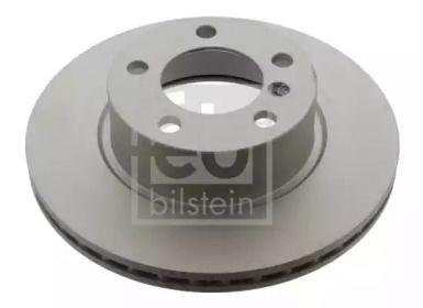 Вентилируемый передний тормозной диск на BMW 4 'FEBI 39111'.