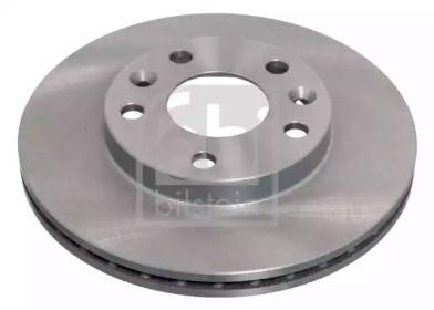 Вентилируемый передний тормозной диск на NISSAN TERRANO 'FEBI 40075'.