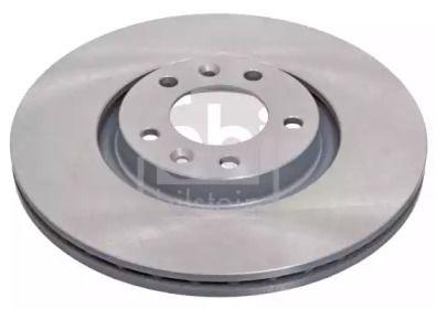 Вентилируемый задний тормозной диск на CITROEN C6 'FEBI 43874'.