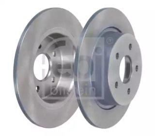 Задний тормозной диск на FORD KUGA 'FEBI 43887'.