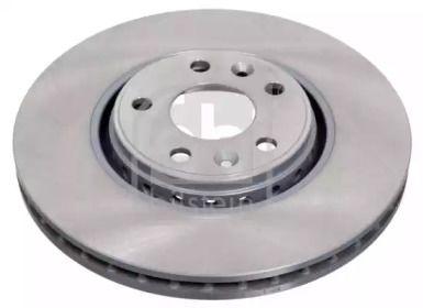 Вентилируемый передний тормозной диск на RENAULT TALISMAN 'FEBI 43949'.