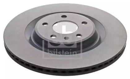 Вентилируемый задний тормозной диск на Ауди Ку7 'FEBI 43985'.
