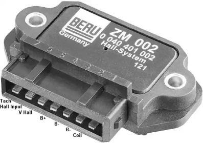 Коммутатор зажигания на Фольксваген Пассат 'BERU ZM002'.