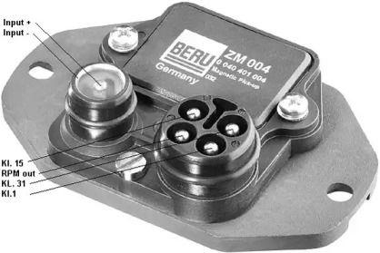 Комутатор запалювання BERU ZM004.