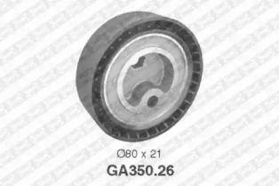 Натяжний ролик ременя генератора SNR GA350.26.