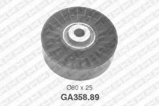 Ролик ременя генератора 'SNR GA358.89'.