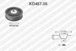 Комплект ремня ГРМ на Сеат Толедо SNR KD457.05.