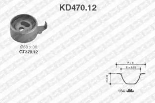Комплект ременя ГРМ на Мазда Е Серія SNR KD470.12.