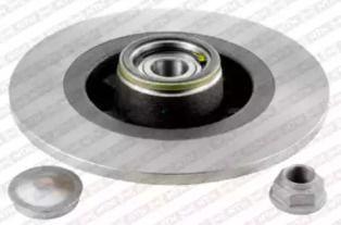 Тормозной диск 'SNR KF155.111U'.
