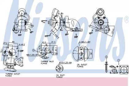 Турбина NISSENS 93075.