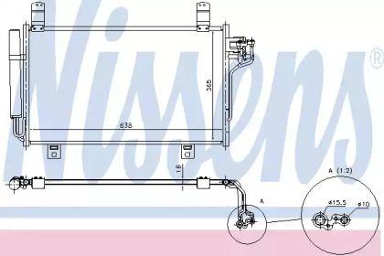 Радіатор кондиціонера на Мазда СХ5 NISSENS 940326.