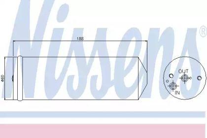 Осушувач, кондиціонер NISSENS 95065.