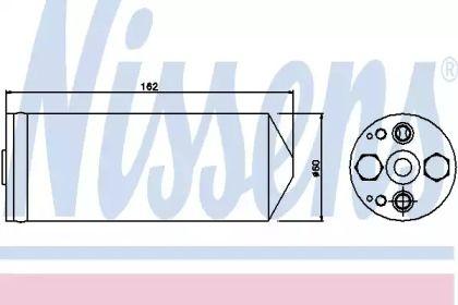 Осушувач, кондиціонер на Мазда Премаси 'NISSENS 95345'.