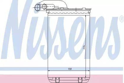 Радиатор печки NISSENS 73252.