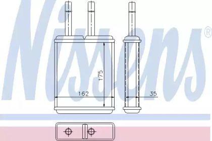 Радіатор печі на Мазда МХ6 NISSENS 71957.