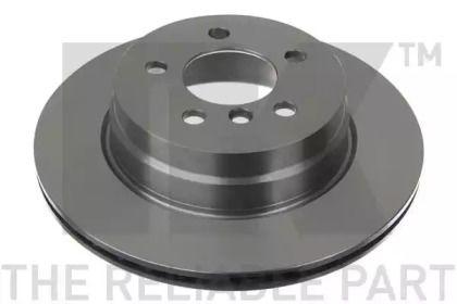Вентилируемый тормозной диск на БМВ Х6 'NK 201583'.