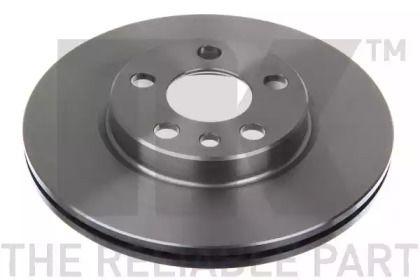 Вентилируемый тормозной диск на PEUGEOT EXPERT 'NK 201923'.