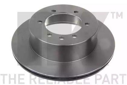 Вентилируемый тормозной диск на Ниссан Патрол 'NK 202255'.