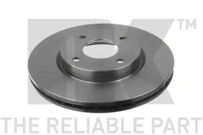Вентилируемый тормозной диск на NISSAN CUBE 'NK 202283'.