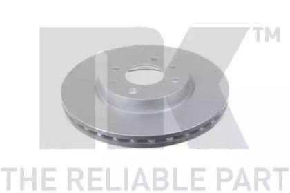 Вентилируемый тормозной диск на Ситроен Немо 'NK 202336'.