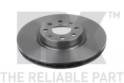 Вентилируемый тормозной диск на Опель Адам 'NK 202350'.