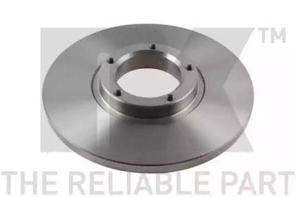 Тормозной диск на Форд Транзит 'NK 202523'.