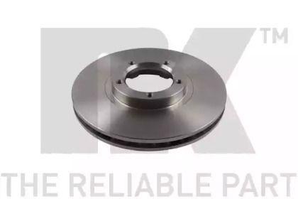 Вентилируемый тормозной диск на FORD TRANSIT TOURNEO 'NK 202531'.