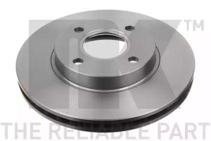 Вентилируемый тормозной диск на Форд Кугар NK 202533.