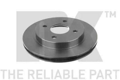 Вентилируемый тормозной диск на FORD COUGAR NK 202535.