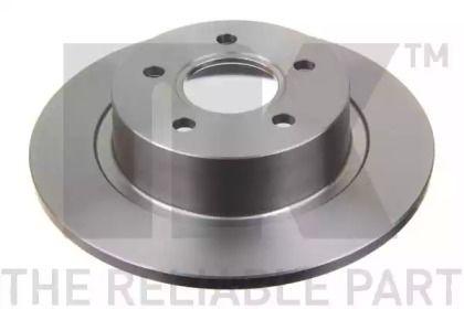 Тормозной диск на Форд Торнео Конект 'NK 202564'.