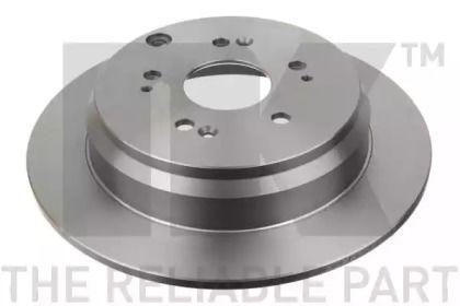 Тормозной диск на HONDA CR-V 'NK 202642'.