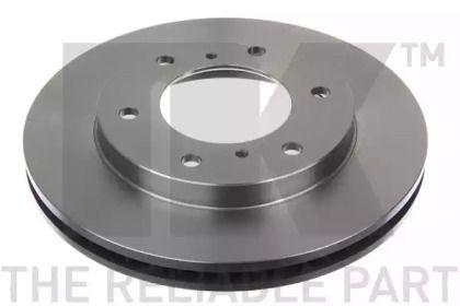 Вентилируемый тормозной диск на Митсубиси Паджеро Спорт 'NK 203033'.
