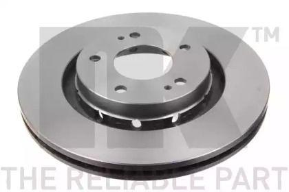 Вентилируемый тормозной диск на PEUGEOT 4007 'NK 203043'.