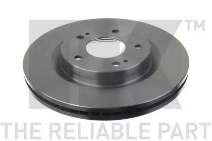 Вентилируемый тормозной диск на Митсубиси Грандис 'NK 203046'.