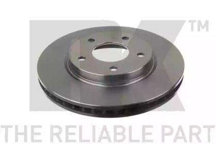 Вентилируемый тормозной диск на DODGE CALIBER 'NK 203057'.