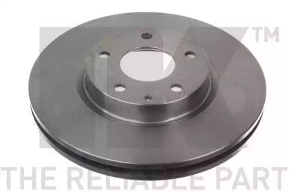 Вентильований гальмівний диск на Мазда СХ5 NK 203278.