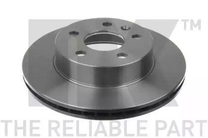Вентилируемый тормозной диск на MERCEDES-BENZ V-CLASS 'NK 203335'.